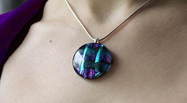 Glass jewellery by Alex R