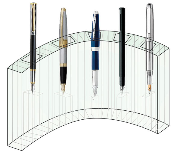Design for penholder
