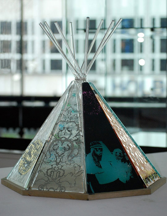 Glass Teepee